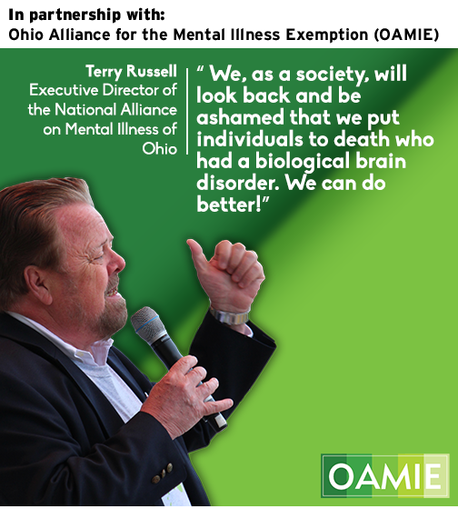 In partnership with Ohio Alliance for the Mental Illness Exemption (OAMIE)